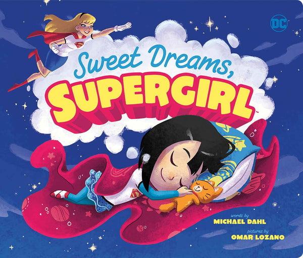 Sweet Dreams, Supergirl (DC Super Heroes Board Book)