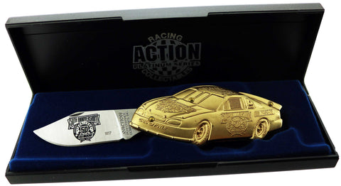 NASCAR 50th Anniversary Gold Folding Knife