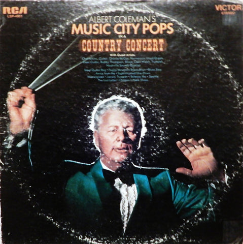 Albert Coleman's Music City Pops. Country Concert