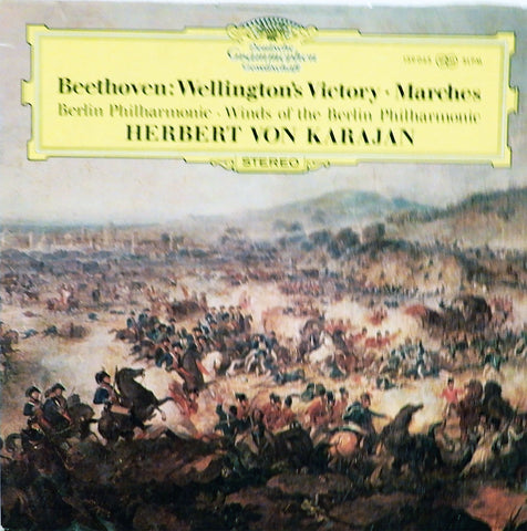 Berlin Philharmonic Orchestra. Beethoven: Wellington's Victory or The Battle of Vittoria, Op, 91