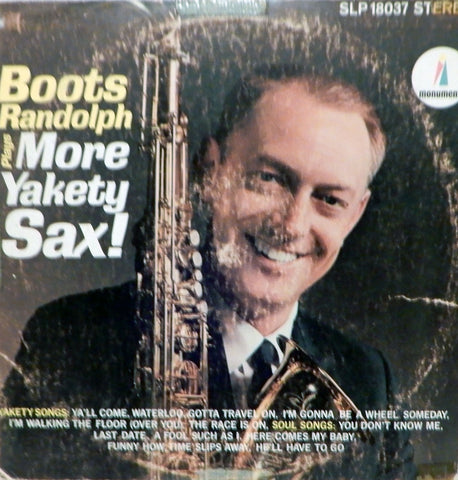 Boots Randolph. Plays More Yakety Sax