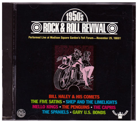 CD. 1950's Rock & Roll Revival