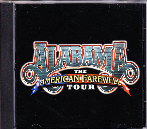 CD. Alabama. The American Farewell Tour