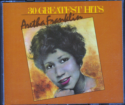 CD. Aretha Franklin. 30 Greatest Hits. 2 CD set.