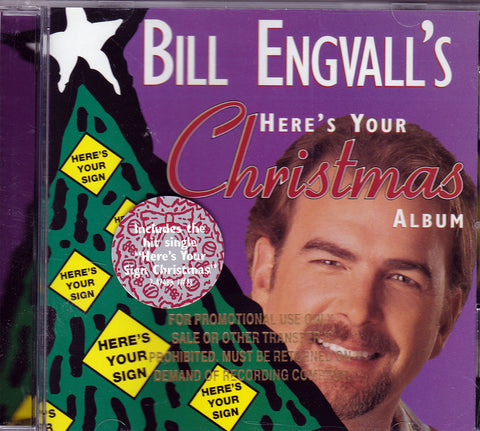 CD. Bill Engvall. Bill Engvall's Here's Your Christmas Album