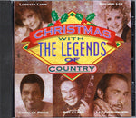 CD. Christmas with The Legends of Country