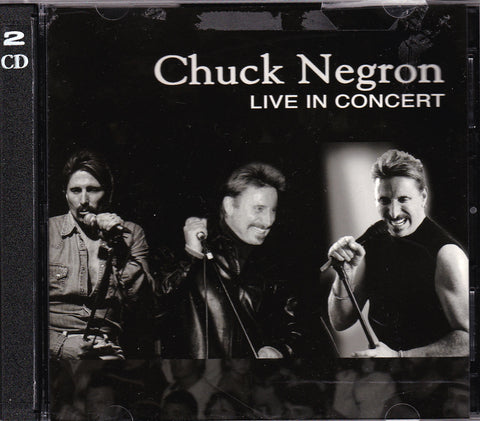 CD. Chuck Negron. Live In Concert. 2 CD Set.