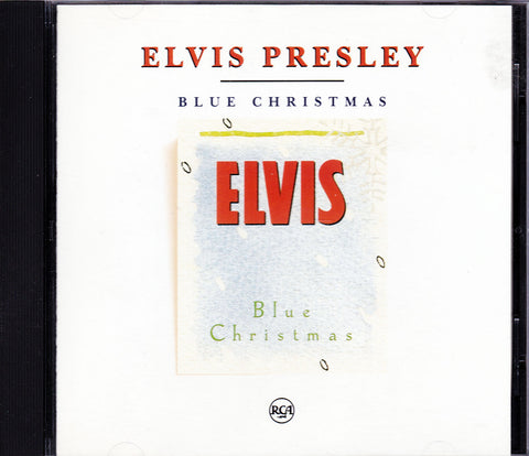CD. Elvis Presley. Blue Christmas