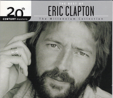 CD. Eric Clapton. The Best Of Eric Clapton The Millennium Collection