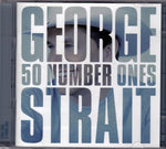 CD. George Strait. 50 Number Ones. 2 CD Set.