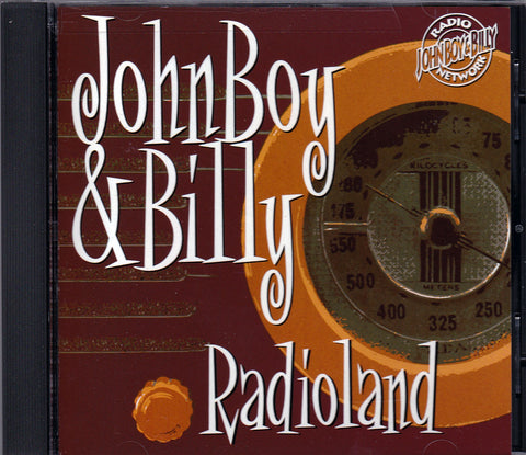 JohnBoy & Billy. Radioland