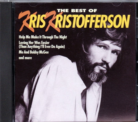 CD. Kris Kristofferson. The Best Of Kris Kristofferson