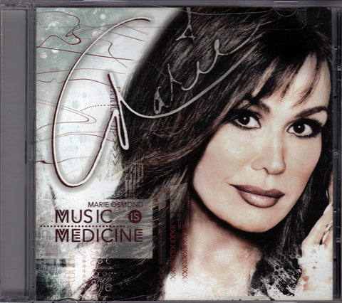 CD. Marie Osmond. Music Is Medicine