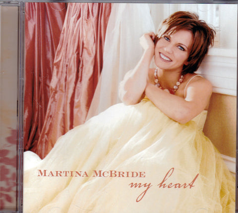 CD. Martina McBride. My Heart
