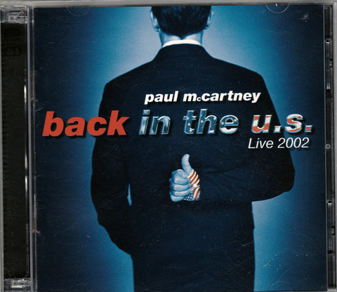 CD. Paul McCartney. Back In The U.S. Live 2002. 2 CD Set
