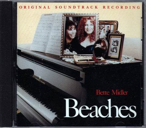 CD. Bette Midler. Original Soundtrack Recording Beaches