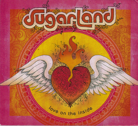 CD. Sugarland. Love On The Inside