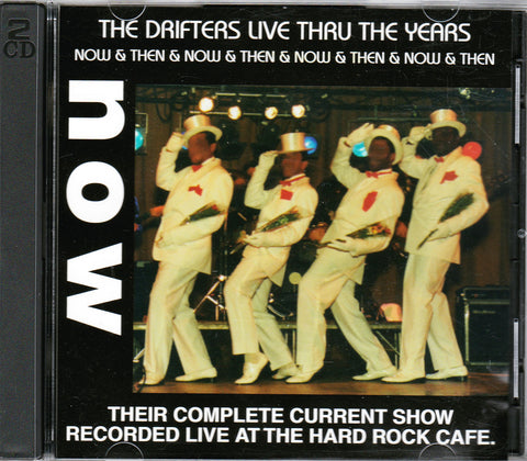 CD. The Drifters. Then & Now. 2 CD Set. Autographed