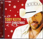 CD. Toby Keith. A Toby Keith Classic Christmas Volume 2