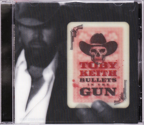 CD. Toby Keith. Bulllets In The Gun