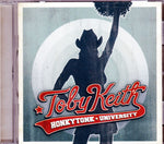 CD. Toby Keith. Honkytonk University