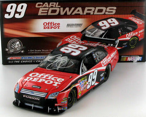 Carl Edwards #99 Office Depot 2008 Fusion Nascar Diecast
