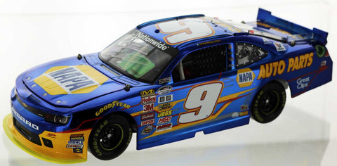 Chase Elliott. 2014 #9 NAPA Camaro. Color Chrome and Autographed. Rookie