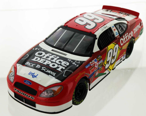 Carl Edwards. #99 Office Depot / Back To School 2005 Ford Taurus