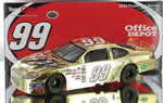 Carl Edwards #99 Office Depot 2005 Gold Chrome Ford Taurus Nascar Diecast