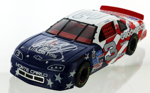 "Dale Earnhardt ""The Intimidator"". #3 Goodwrench/Olympics 1996 Monte Carlo. Autographed"