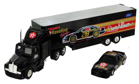 Davey Allison. 1-64th Scale Team Hauler and Car