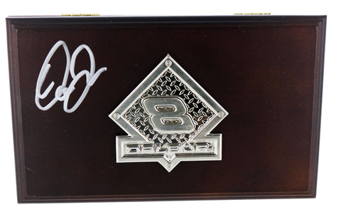 Dale Earnhardt Jr. Wood Jewelry Box. Autographed