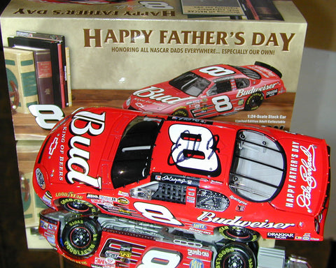 Dale Earnhardt Jr. #8 Budweiser / Father's Day 2004 Monte Carlo. Autographed