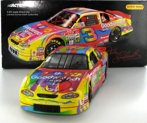 Dale Earnhardt #3 GM Goodwrench Service Plus Peter Max 2000 Monte Carlo Nascar Diecast