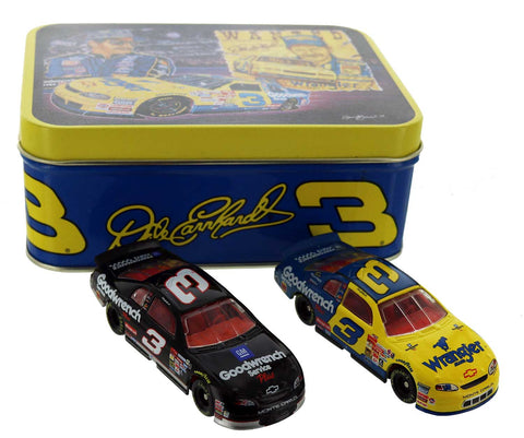 Dale Earnhardt. GM Goodwrench Service Plus Wrangler  Tin Set