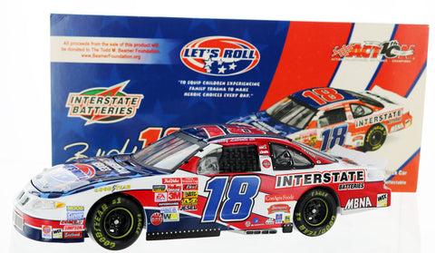 Bobby Labonte. #18 Interstate Batteries / Let's Roll 2002 Grand Prix Club Car Bank