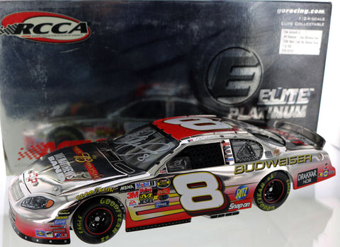 Dale Earnhardt Jr. #8 Budweiser / Dave Mathews Band 2004 Monte Carlo. Elite Platinum. Autographed