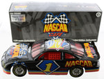 NASCAR Cafe 1-24th Scale Collectible DIecast Car. Signed by Dale and Dale Jr