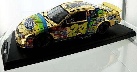 Jeff Gordon. 1998 #24 Dupont Monte Carlo. Gold Finish. Autographed