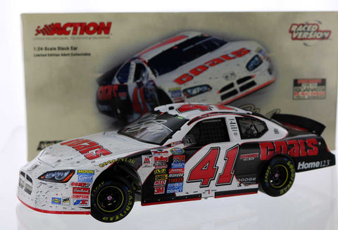 Reed Sorenson. #41 Discount Tire / Nashville Raced Win Version, 2005 Charger. Autographed