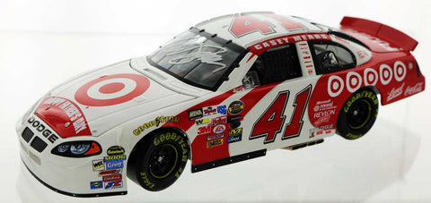Casey Mear. #41 Target sponsored 2004 Dodge Intrepid. Autographed