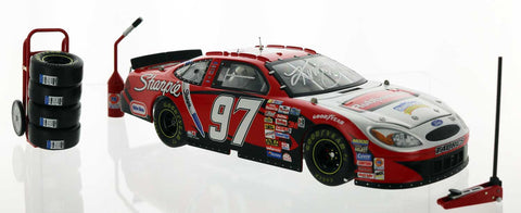 Kurt Busch. 2003 #97 Rubbermaid Ford Taurus. Autographed