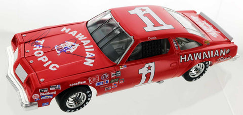 Donnie Allison, 1979 Hawaiian Tropic #1 Oldsmobile 442. Autographed.