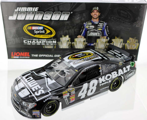 Jimmie Johnson. #40 Kobalt Tools 2013 Champion Diecast. Autographed