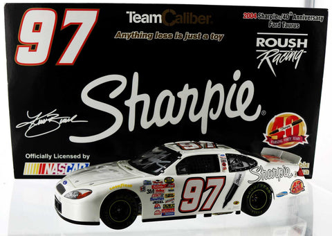 Kurt Busch #97 Sharpie 40th Anniversary Ford. Autographed