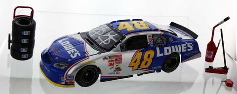 Jimmie Johnson. #48 Lowe's 2003 Monte Carlo. Autographed.