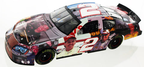Rusty Wallace. #2 Milestones / 9X Bristol Winner 2005 Dodge Charger Club Car