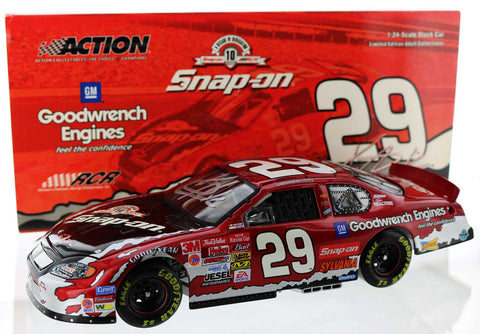 Kevin Harvick. #29 Snap-On / GM Goodwrench 2003 Monte Carlo. Autographed
