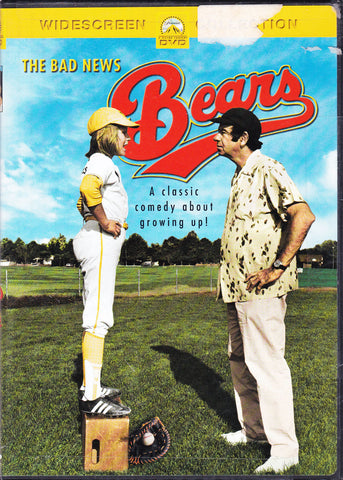 DVD. The Bad News Bears starring Walter Matthau and Tatum O'Neal
