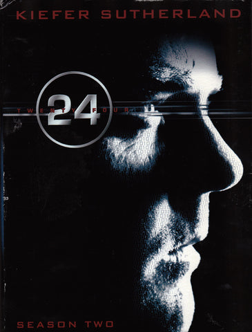 DVD. 24 TV Series Complete Season 2